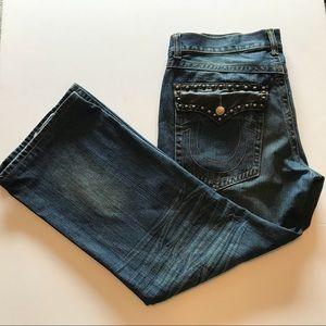 EUC True Religion Relax Fit Jeans Size: 40